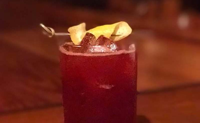 Blackberry Sage Fizz
